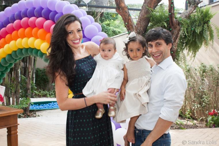 Carolina Bresser - 2 anos: Com tatiana Monteiro de Barros, Lucio e Helena Bresser.